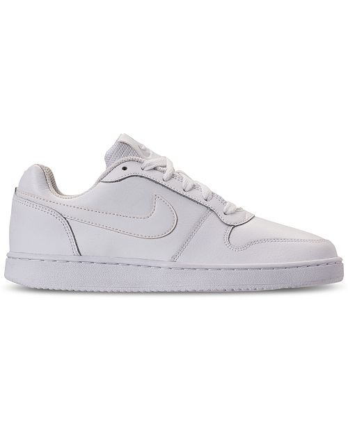 best website 24829 9f71f ... Nike Women s Ebernon Low Casual Sneakers from Finish ...