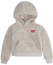 Levi's® Toddler Girls Sherpa Hoodie