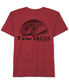 Jem Big Boys T for Tacos Cotton T-Shirt