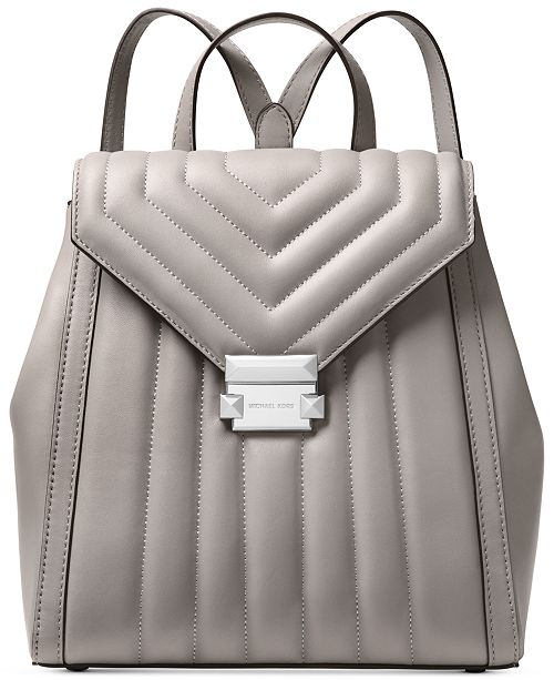 96931be5c Michael Kors Whitney Quilted Leather Small Backpack & Reviews ...