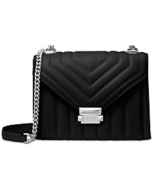 MICHAEL Michael Kors Whitney Quilted Leather Shoulder Bag
