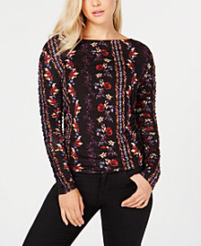 Long Sleeve Zion Ruched Top