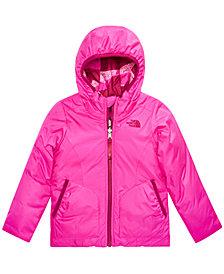 The North Face Toddler Girls Hooded Reversible Perrito Jacket