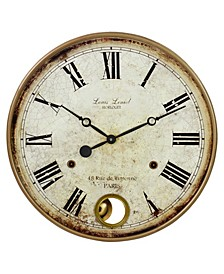 Raleigh Pendulum Wall Clock