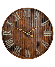 Sanford Industrial Wall Clock