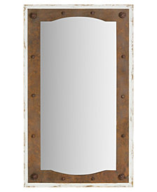 Holmes Industrial Gear Wall Mirror