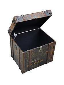 Gulliver'S Trunk End Table