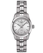 d93b3bc7764 Tissot Women s Swiss T-Classic PR 100 Gray Stainless Steel Bracelet Watch  25mm