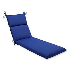 Fresco Navy Chaise Lounge Cushion