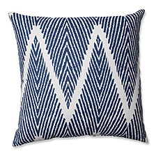 "Bali Navy 16.5"" Throw Pillow"