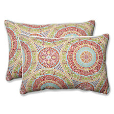 Delancey Jubilee Over-sized Rectangular Throw Pillow, Set of 2