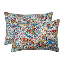 Gilford Festival Over-sized Rectangular Throw Pillow, Set of 2