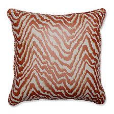 "Sleek Spice 18"" Throw Pillow"