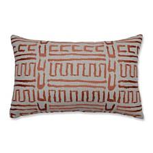 Primitive Sunset Rectangular Throw Pillow