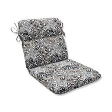 Corinthian Driftwood Rounded Corners Chair Cushion