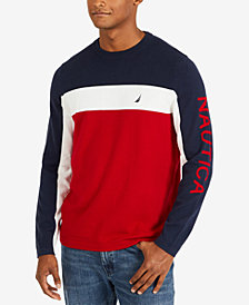 Nautica Men's Colorblocked Sweater