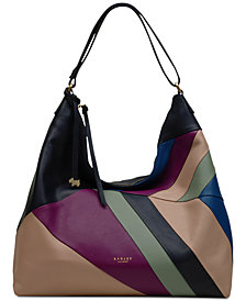 Radley London Zip-Top Leather Hobo Bag