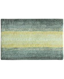 "Bacova Portico Cotton 20"" x 30"" Ombré Stripe Bath Rug"