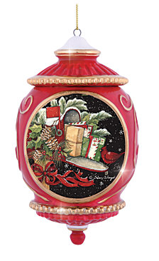 Precious Moments Holiday Mailbox Ornament