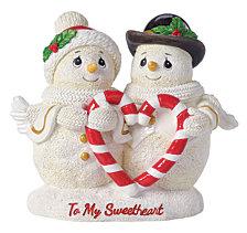 Precious Moments To My Sweetheart Snowman Figurine