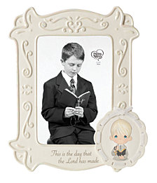 This Is The Day The Lord Has Made Communion Photo Frame, Boy