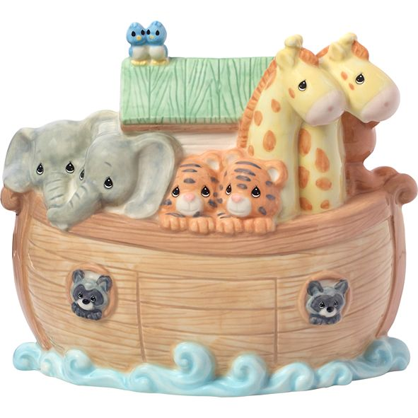 Precious Moments Overflowing With Love Noah's Ark Bank