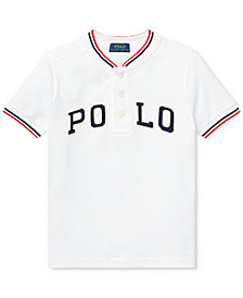 Polo Ralph Lauren Toddler Boys Cotton Henley T-Shirt