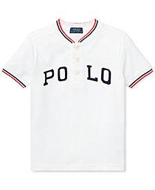 Polo Ralph Lauren Little Boys Cotton Mesh Henley T-Shirt