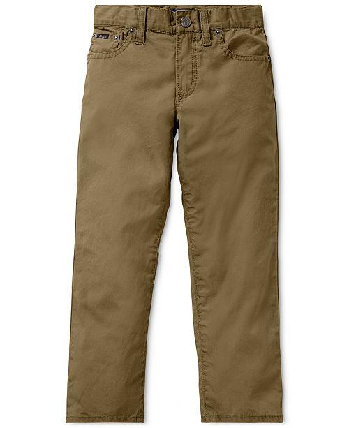 fa96579c3c173 Polo Ralph Lauren Little Boys Varick Slim Fit Cotton Pants   Reviews ...