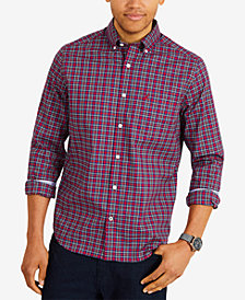 Nautica Men's Classic-Fit Plaid Shirt