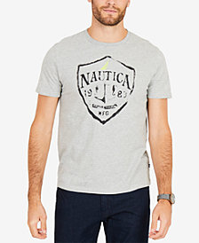 Nautica Men's Logo Graphic T-Shirt