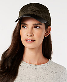 I.N.C. Quilted Baseball Cap, Created for Macy's