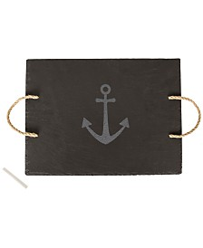 Cathy's Concepts Slate Anchor Serving Board