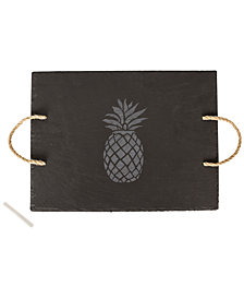 Cathy's Concepts Pineapple Slate Serving Board
