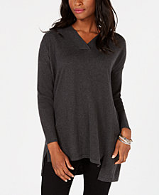 Style & Co High-low Over-sized Tunic Sweater, Created for Macy's