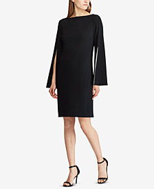 Lauren Ralph Lauren Split-Sleeve Dress