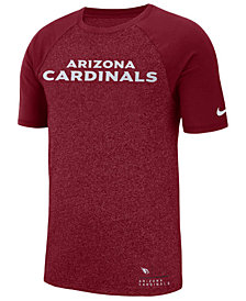 Nike Men's Arizona Cardinals Marled Raglan T-Shirt