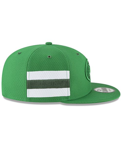 81c6d7943 ... New Era New York Jets On Field Color Rush 9FIFTY Snapback Cap ...