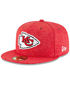 New Era Boys' Kansas City Chiefs On Field Sideline Home 59FIFTY Fitted Cap