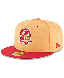 New Era Boys' Tampa Bay Buccaneers On Field Sideline Home 59FIFTY FITTED Cap