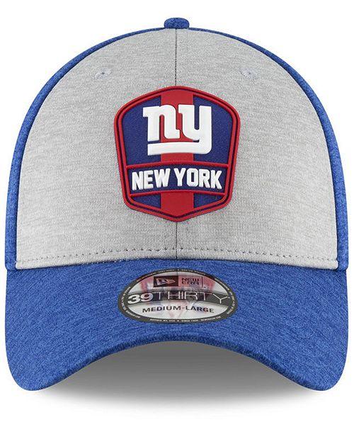 b674b76a05e New Era Boys  New York Giants Sideline Road 39THIRTY Cap - Sports Fan Shop  By Lids - Men - Macy s