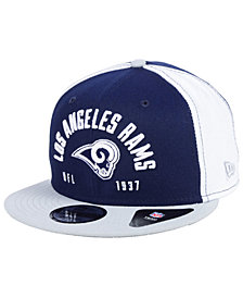 New Era Los Angeles Rams Establisher 9FIFTY Snapback Cap