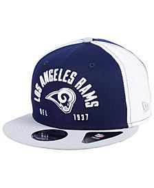 New Era Los Angeles Rams Establisher 9FIFTY Snapback Cap