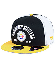 New Era Pittsburgh Steelers Establisher 9FIFTY Snapback Cap