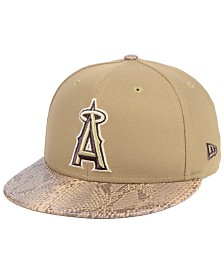 New Era Los Angeles Angels Snakeskin Sleek 59FIFTY FITTED Cap