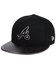 New Era Atlanta Braves Snakeskin Sleek 59FIFTY FITTED Cap
