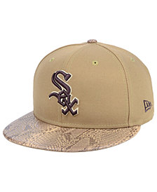 New Era Chicago White Sox Snakeskin Sleek 59FIFTY FITTED Cap