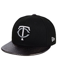 New Era Minnesota Twins Snakeskin Sleek 59FIFTY FITTED Cap