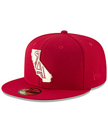 New Era Los Angeles Angels Gold Stated 59FIFTY FITTED Cap
