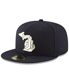 New Era Detroit Tigers Gold Stated 59FIFTY FITTED Cap